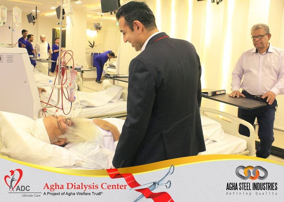 Agha Steel Industries Ltd  gifts third Dialysis Centre to